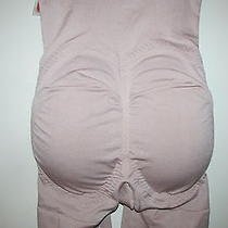 Womens Sm Spanx Mid-Thigh Bodysuit No Back Butt Boosting Design Nwt Photo