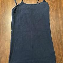 Womens Small Aeropostale Tank Top Navy Blue Used Summer Beach Spaghetti Cami Fa Photo