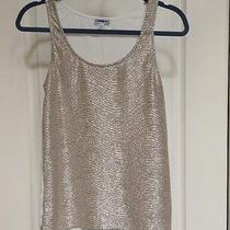 Women's Small Express Silver/ Cotton Top Photo