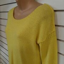 Women's Small Gap Yellow Sweater Mint Photo