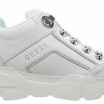 Women's Sneakers Guess Fl8si3fal12 Leather White Photo