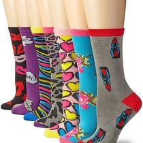 Women's Socks by Betsey Johnson Fashionable Legwear Celebrity  Photo