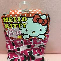 Women's Socks New Limited Sanrio Hello Kitty Size 4.5  6.5 Kawaii Color Pink Photo