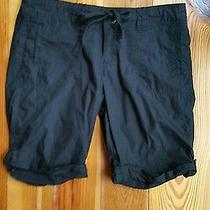 Women's Solid Black Mossimo Supply Shorts Photo