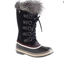 Women's Sorel for J.crew Joan of Arctic Boots 7 Black Photo