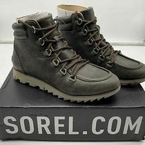 Womens Sorel Harlow Lace Up Booties Waterproof Boots - Size 8.5 Photo