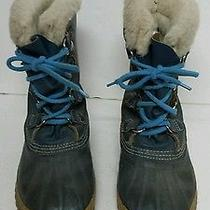 Women's Sorel Manitou Insulated Leather Boots  7   Photo