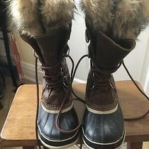 Womens Sorel Winter Boots Size 8 Photo