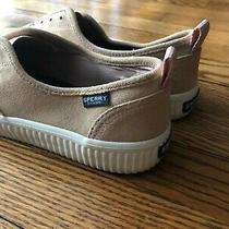 Women's Sperry Top-Sider Blush Colored Slip-on Shoes - Size 9 Photo