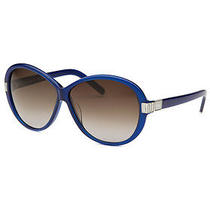 Women's Square Blue Sunglasses Photo