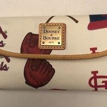 Women's St. Louis Cardinals Dooney & Bourke Continental Clutch Wallet Photo