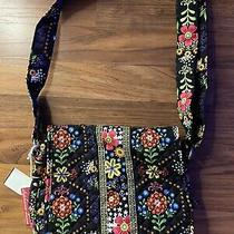 Womens Stephanie Dawn Out and About Bloom Dance Canvas Purse/crossbody Nwt Photo