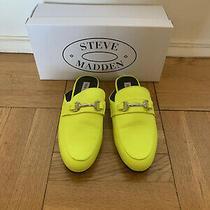 Women's Steve Madden Kandi Casual Slip on Mule Loafers Shoes Size 9. Photo