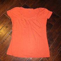 Women's Style & Co Burnt Orange Tee Size Medium (Macy's) Photo