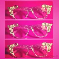 Women's Swarovski Embellished Glasses Photo