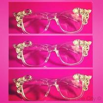 Women's Swarovski Embellished Glasses Photo