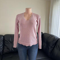 Womens Sweater Pullover Cable Knit Sweatshirt Size M Photo
