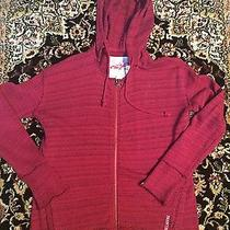 Women's Sweatshirt Size Medium Red Sweatshirt Billabong Sweatshirt  Photo