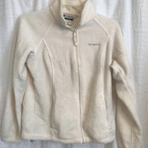 Womens Sz L Fleece Columbia Jacket Photo