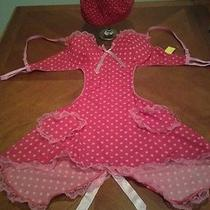 Women's sz.large Baby Doll/teddy-pink&red Very Sexy Maid Hatvalentine Treats   Photo