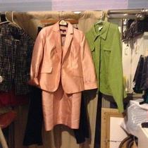 Women's Talbot ( Brand New With Tag) Pink Blazer and Dress Outfit Size 8 Photo
