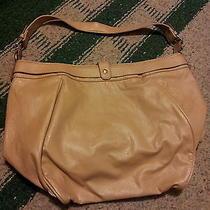 Women's Tan Hobo Tote Handbag Purse Forever 21 Photo