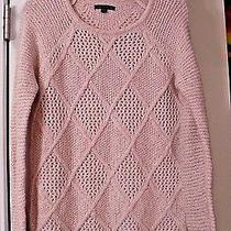 Women's Teen Juniors American Eagle Xs Blush Pink Sweater Top Blouse Photo