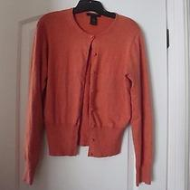 Women's the Limited Stretch Button Up Sweater Size L  Photo