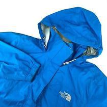 Women's the North Face Hyvent Jacket Raincoat Waterproof Blue Jkt Size - S Photo