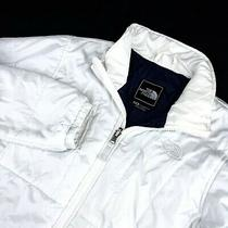 Women's the North Face Liner Jacket White Nano Puff Lining Jacket Size - M Photo