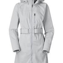 Women's the North Face Sashanna Softshell Jacket Hooded Coat Trench New Sz S Photo
