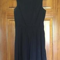 Womens Theory Black Sleeveless Dress Size 2 Photo