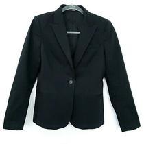 Women's Theory Cotton Gabe B Westside Blazer Jacket Size 10 Career Work Euc Photo