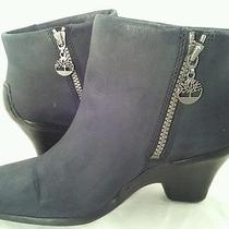 Women's Timberland Ankle Boots Low Heel 9.5 M Photo