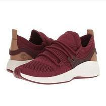 Womens Timberland Flyroam Go Knit Chukka  Sneakers 9.5 Burgundy New Photo
