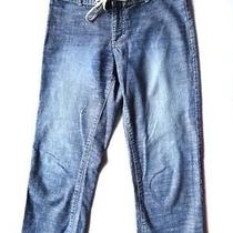 Women's Tommy Hilfiger Corset Style Distressed Jean Pant Photo