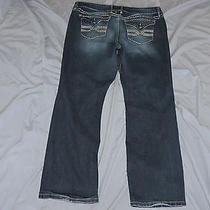Women's Torrid Embellished Jeans Sz 18   40x30.5 Photo