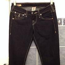 Women's True Religion Jeans Billy  Size 25section Xxx Seat Photo