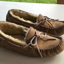 Women's Ugg Australia Dakota Moccasin Size 9 / 40 Slippers Tan Tabacco 5131  Photo