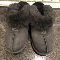 Women's Ugg Black Coquette Slippers- Size 8- 5125 Photo