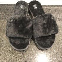 Women's Ugg Black Cozette Slippers- Size 10- 1100892 Photo