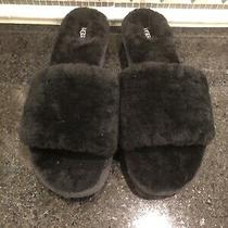 Women's Ugg Black Cozette Slippers- Size 11- 1100892 Photo