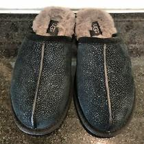 Women's Ugg Black Pearle Milky Way Slippers- Size 6- 119113 Photo