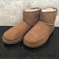 Women's Ugg Classic Mini Ii Chestnut Boots- Size 8- 1016222 Photo