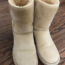 Women's Ugg Classic Short Ii Boot Sand Size 8 Photo