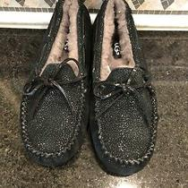 Women's Ugg Dakota Twinkle Black Slippers- Size 7- 1106549 Photo
