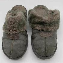 Women's Ugg Grey Slippers- Size 7 (Possibly) Photo