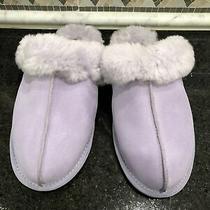 Women's Ugg Scuffette Ii Purple Slippers- Size 7- 1106872 Photo