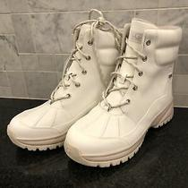 Women's Ugg White Yose Waterproof Boots- Size 10-  1112330 Photo