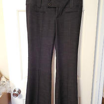 Women's Vanity Dark Gray Addison Business Dress Pants Size 9 Nwt Photo
